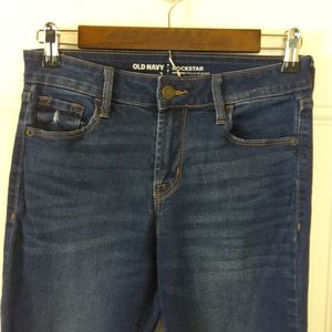 Old Navy Rockstar distressed mid-rise skinny Jeans
